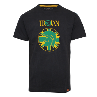 """Trojan """"Helmet"""" T-Shirt (black)"""