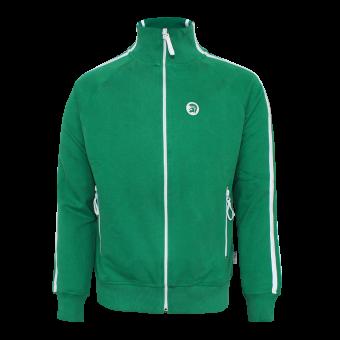 "Trojan ""Logo"" Sweatjacke (green)"