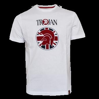 "Trojan ""Helmet UNION"" T-Shirt (weiss)"