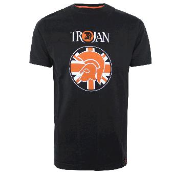 """Trojan """"Helmet Trojan"""" T-Shirt (black)"""
