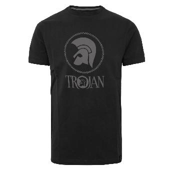 """Trojan """"Chequerboard"""" T-Shirt (schwarz)"""