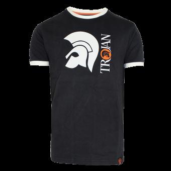 "Trojan ""Helmet Logo"" T-Shirt (black)"