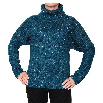 "Zergatik ""Masus"" Girly Pullover (azul) (reduziert)"