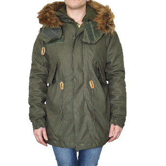 Alpha Industries Girl Vintage Parka (oliv)