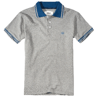 "PGWear ""Teracce"" Polo (grey)"