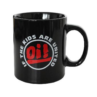 "Mug ""Oi! If the kids are united"" (black)"