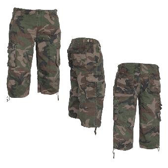 Air Combat 3/4 Shorts (Mil-Tec)