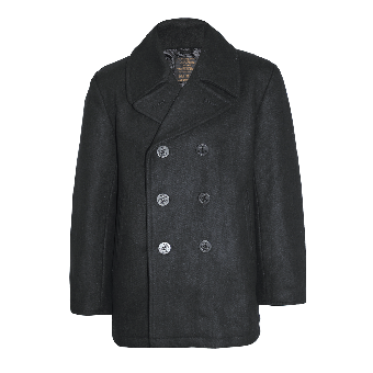 Mil-Tec Pea Coat (black)