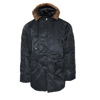 Mil-Tec Hooded Parka (black)