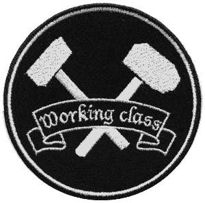 Working Class - gestickter Aufnäher/ patch