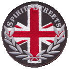 Spirit of the Streets (Union Jack) (gestickt) - Aufnäher / patch