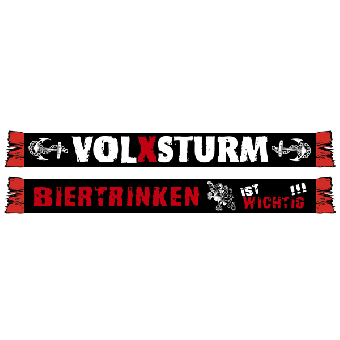 """Volxsturm """"Biertrinken..."""" Schal"""