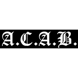 A.C.A.B. - Aufkleber 001