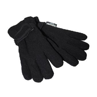 "Handschuhe ""Thinsulate"" (Fleece) (schwarz / black) (reduziert)"