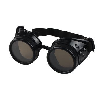 Vintage Steampunk Protective Goggles (black)