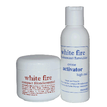 Haarfarbe - Blondierung (Directions) (White fire 6 % high)