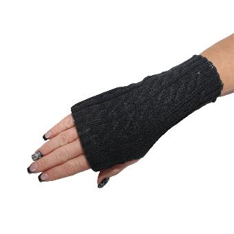Handschuhe Fingerlos (schwarz)