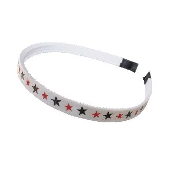 Star Haarreifen (white)