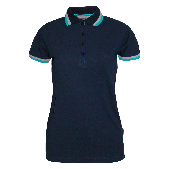 "Hakro ""Classic"" Girly Polo (navy)"