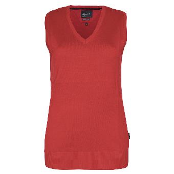 """Hakro """"Premium"""" Girly V-Pullunder (red)"""