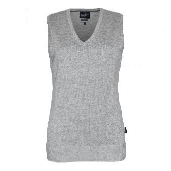 """Hakro """"Premium"""" Girly V-Pullunder (grey)"""