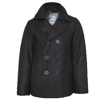 Brandit Pea Coat (grey)