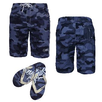 "Beach Shorts ""Carve"" (navy)"