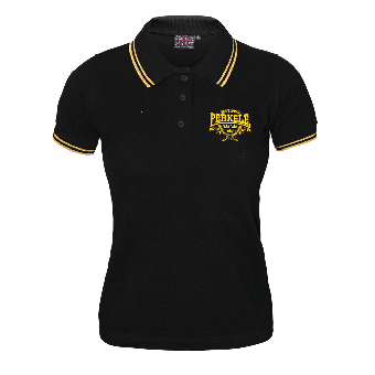 "Perkele ""est.1993""  Girly-Polo-Shirt"