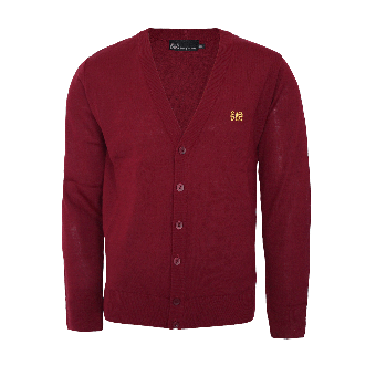 "Spirit of the Streets ""Classic"" Cardigan (burgund)"