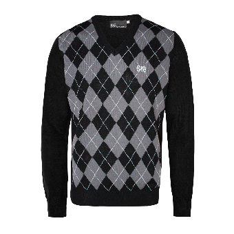 "Spirit of the Streets ""Argyle"" Pullover (grey/black)"