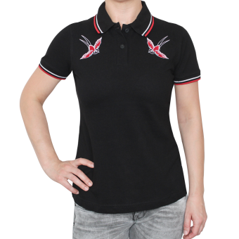 "Spirit of the Streets ""2 Birds"" Girly-Polo"
