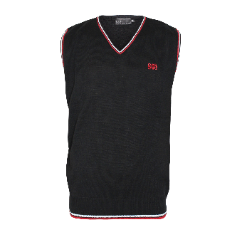 """Spirit of the Streets """"Logo"""" Pullunder (black with red/white stripes)"""