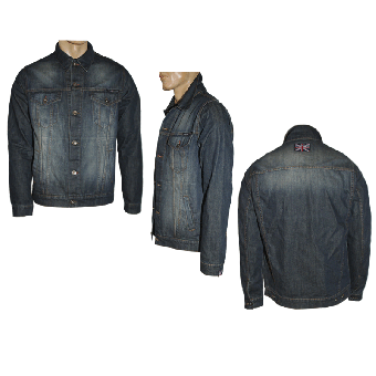 "Spirit of the Streets ""George"" Jeansjacke (reduziert)"