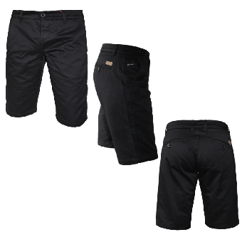 "Spirit of the Streets ""William"" Chino Shorts (black)"
