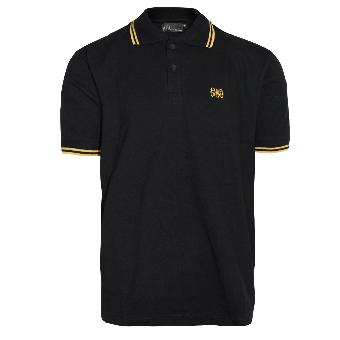 "Spirit of the Streets ""Logo"" Polo (black / yellow)"