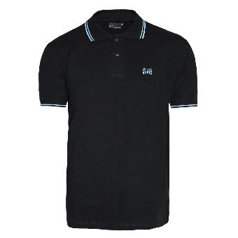"Spirit of the Streets ""Logo"" Polo (black / blue)"