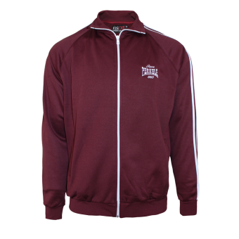 "Perkele ""Heart full of Pride"" Trainingsjacke (burgund) (XXXL)"