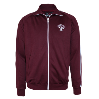 "Cock Sparrer ""Working Class"" Track Jacket (burgundy)"
