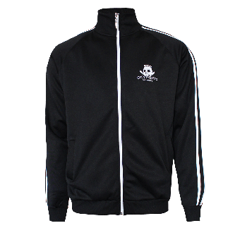 "City Saints ""Kicking Ass"" Training Jacket (black)"