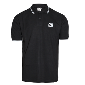 "A Way of Life ""Oi!"" Polo Shirt (schwarz)"