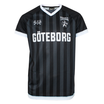 "Perkele ""Göteborg"" Football Shirt (black/white)"