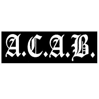 A.C.A.B. - Stoffaufnaeher (Druck)