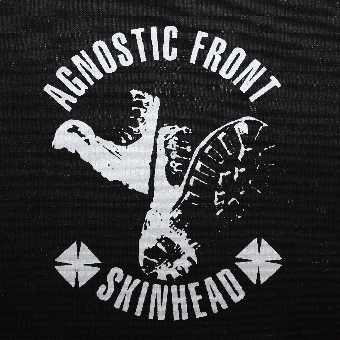 "Agnostic Front ""Skinhead"" Stoffaufnäher (Druck)"