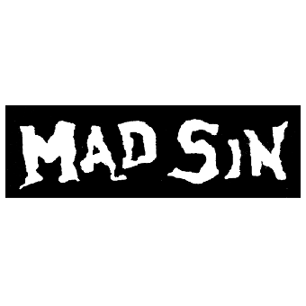 Mad Sin - Stoffaufnaeher (Druck)
