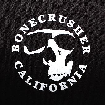 Bonecrusher (California)  Stoffaufnäher (Druck)