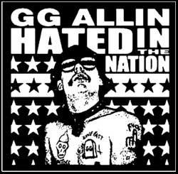 GG Allin - Aufnäher/patch - (Druck)