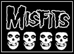 Misfits - Aufnäher/patch - (Druck)