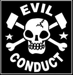 Evil Conduct - Aufnäher/patch - (Druck)