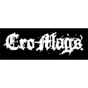 Cro Mags- Stoffaufnäher (Druck)
