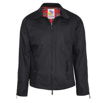 Harrington rain jacket (black)